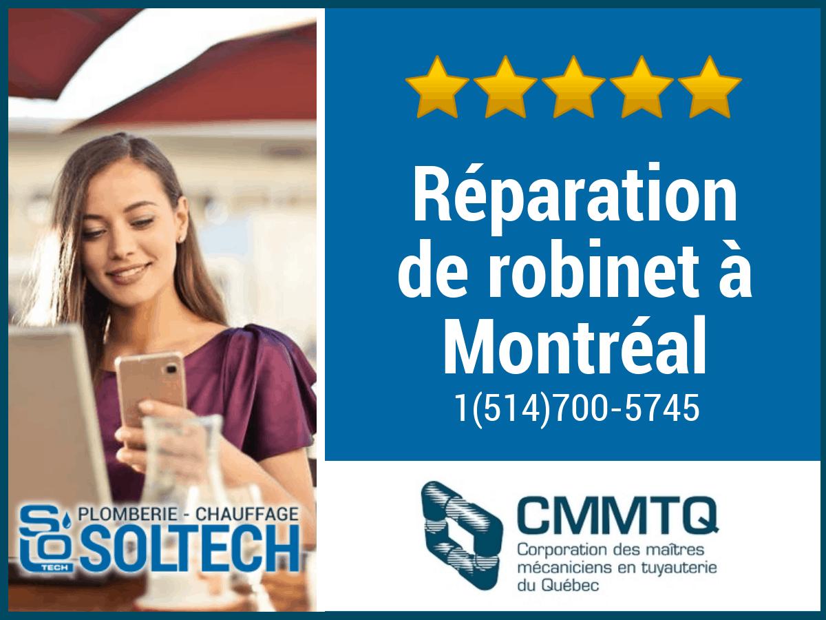 Réparation De Robinet à Montréal